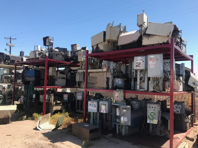 Used recycling equipment